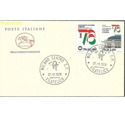 Włochy 1976 Mi 1524-1525b FDC