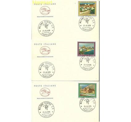 Znaczek Włochy 1976 Mi 1527-1529 FDC
