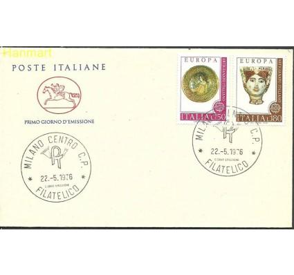 Znaczek Włochy 1976 Mi 1530-1531b FDC