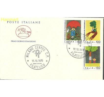Znaczek Włochy 1976 Mi 1546-1548b FDC