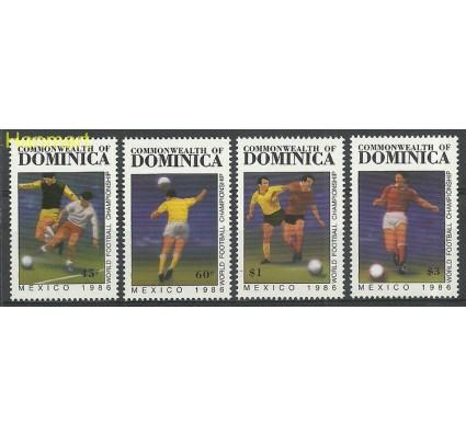 Znaczek Dominika 1986 Mi 988-991 Czyste **