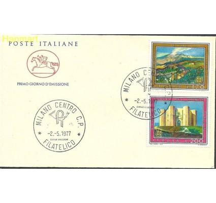 Znaczek Włochy 1977 Mi 1567-1568 FDC