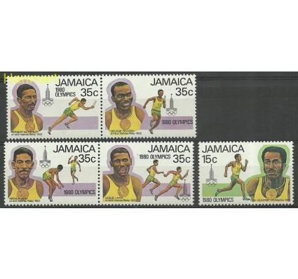 Znaczek Jamajka 1980 Mi 487-491 Czyste **