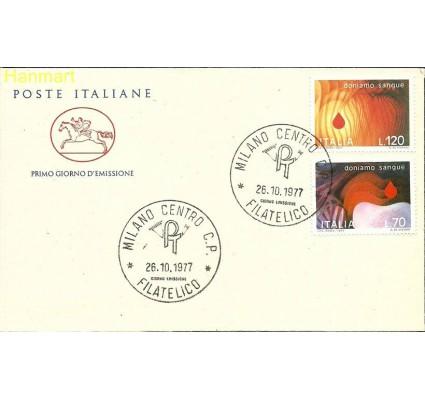 Znaczek Włochy 1977 Mi 1589-1590b FDC