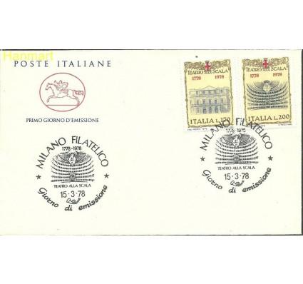 Włochy 1978 Mi 1598-1599 FDC