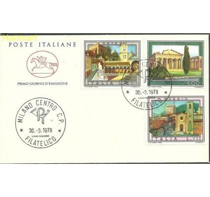 Włochy 1978 Mi 1600-1602b FDC