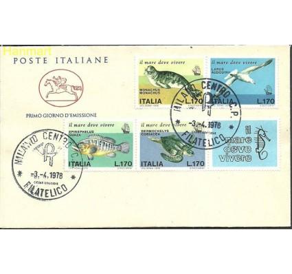 Znaczek Włochy 1978 Mi 1603-1606b FDC