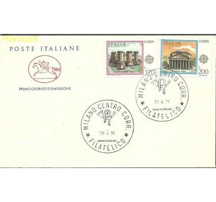 Znaczek Włochy 1978 Mi 1607-1608 FDC