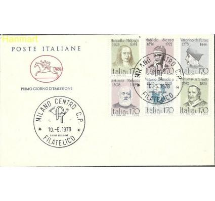 Znaczek Włochy 1978 Mi 1613-1618 FDC