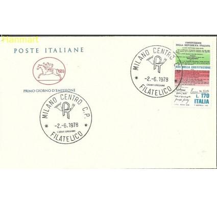 Znaczek Włochy 1978 Mi 1619b FDC