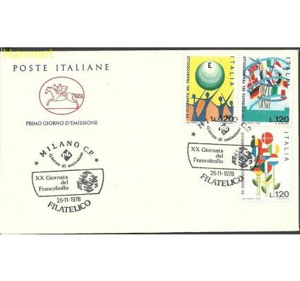 Znaczek Włochy 1978 Mi 1632-1634d FDC