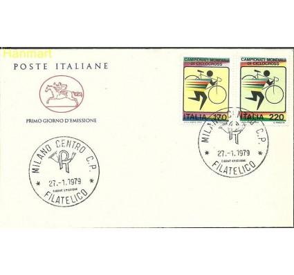 Znaczek Włochy 1979 Mi 1639-1640 FDC