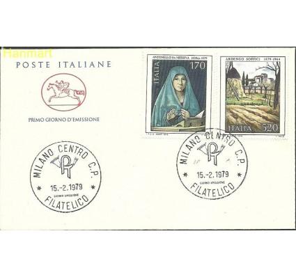 Znaczek Włochy 1979 Mi 1645-1646b FDC
