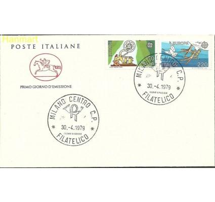 Włochy 1979 Mi 1657-1658 FDC
