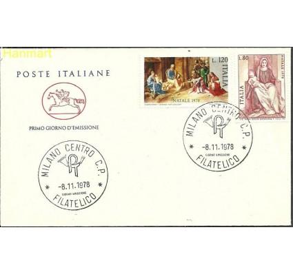 Znaczek Włochy 1978 Mi 1630-1631 FDC