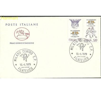 Włochy 1979 Mi 1662-1663b FDC