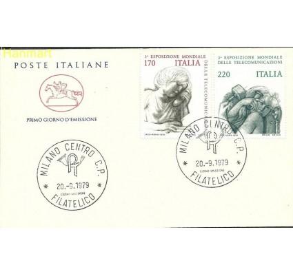 Włochy 1979 Mi 1668-1669 FDC