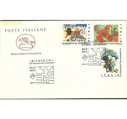 Włochy 1979 Mi 1679-1681b FDC