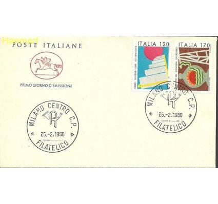 Włochy 1980 Mi 1682-1683b FDC