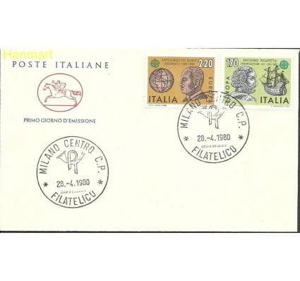 Włochy 1980 Mi 1686-1687 FDC
