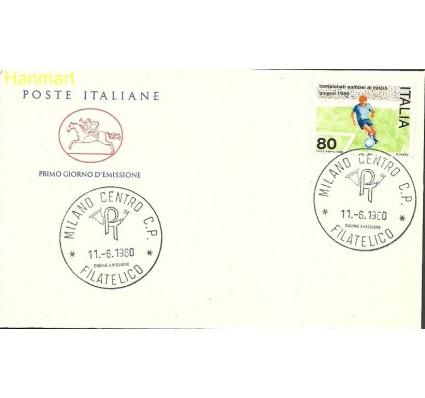 Znaczek Włochy 1980 Mi 1693 FDC
