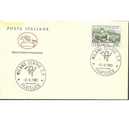 Znaczek Włochy 1980 Mi 1700 FDC