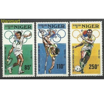 Niger 1987 Mi 1015-1017 Czyste **