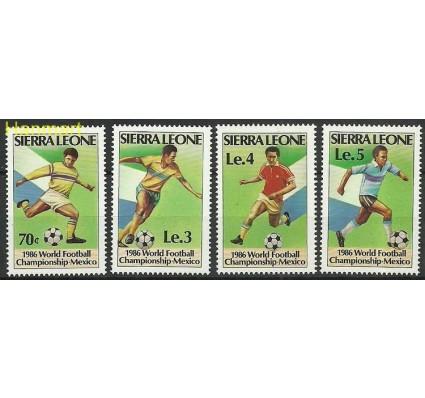 Znaczek Sierra Leone 1986 Mi 873-876 Czyste **