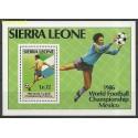 Sierra Leone 1986 Mi bl42 Czyste **