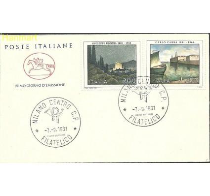Włochy 1981 Mi 1771-1772 FDC