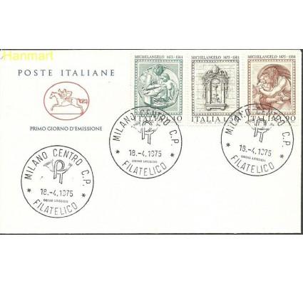 Włochy 1975 Mi dre1483-1485 FDC