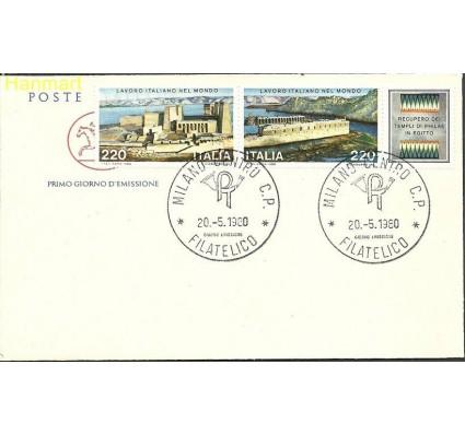 Włochy 1980 Mi 1691-1692 FDC