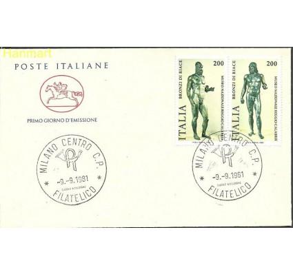Znaczek Włochy 1981 Mi 1773-1774 FDC