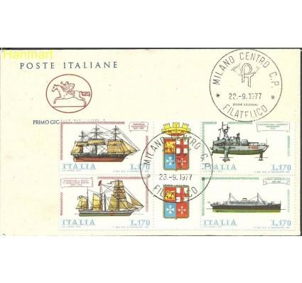 Znaczek Włochy 1977 Mi 1579-1582 FDC