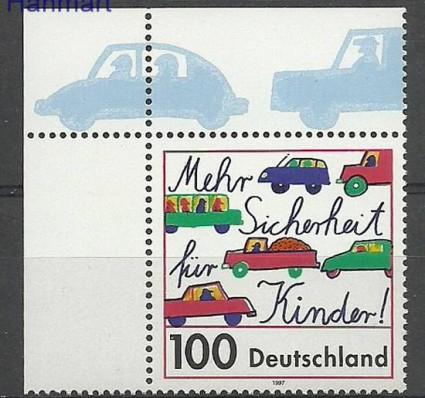 Niemcy 1997 Mi mar1897 Czyste **
