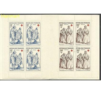 Znaczek Francja 1957 Mi mh 1175-1176 Czyste **