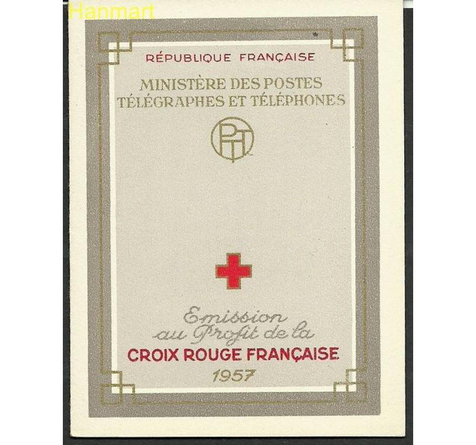 Francja 1957 Mi mh 1175-1176 Czyste **