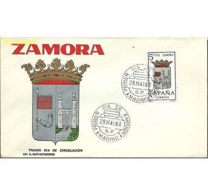 Znaczek Hiszpania 1966 Mi 1621 FDC