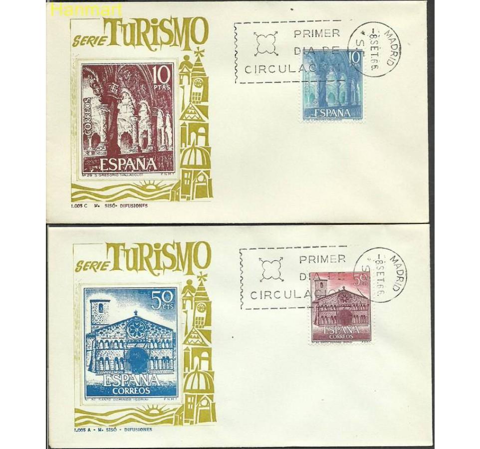 Hiszpania 1966 Mi 1636-1640 FDC