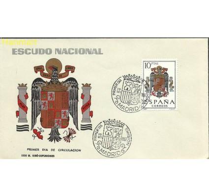 Hiszpania 1966 Mi 1641 FDC