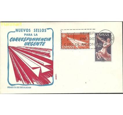 Hiszpania 1966 Mi 1660-1661 FDC