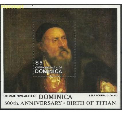 Dominika 1988 Mi bl 136 Czyste **