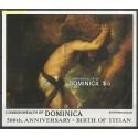 Dominika 1988 Mi bl 137 Czyste **