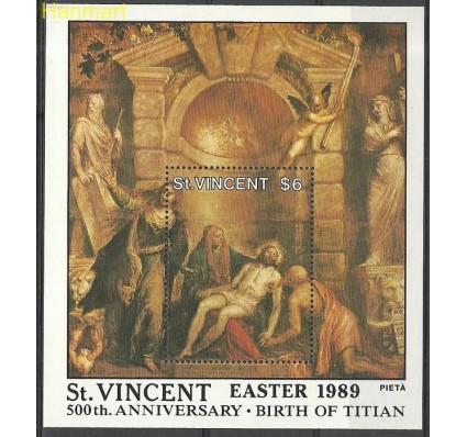 Znaczek St. Vincent 1989 Mi bl 68 Czyste **