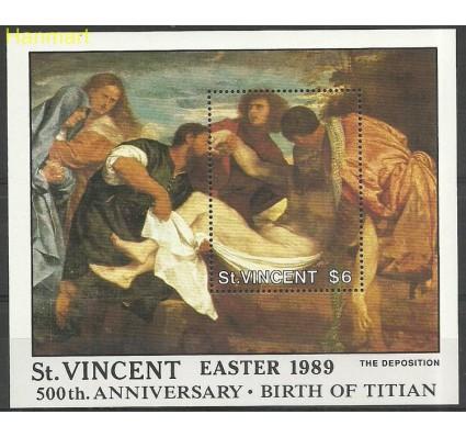Znaczek St. Vincent 1989 Mi bl 69 Czyste **