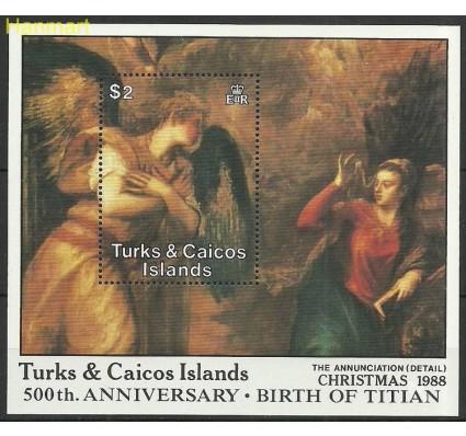 Znaczek Turks i Caicos 1988 Mi bl 75 Czyste **