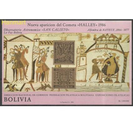 Znaczek Boliwia 1986 Mi bl 152 Czyste **