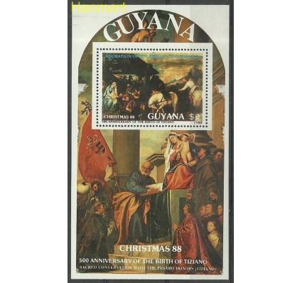 Gujana 1988 Mi bl 28 Czyste **