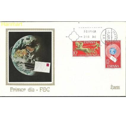 Znaczek Hiszpania 1971 Mi 1936-1937 FDC