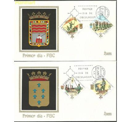 Znaczek Hiszpania 1971 Mi 1938-1941 FDC